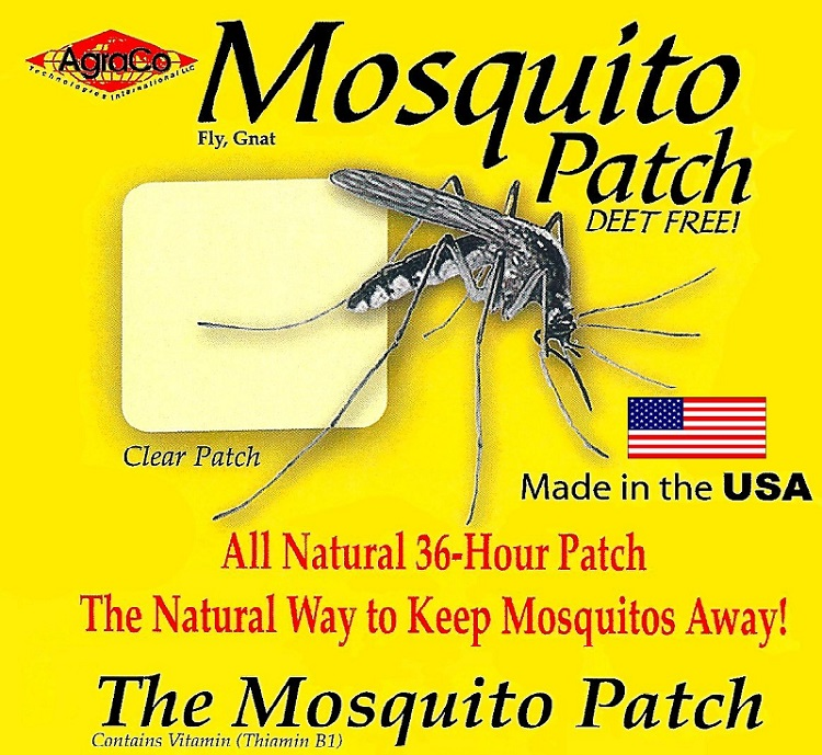AgraCo mosquito patch travel pack