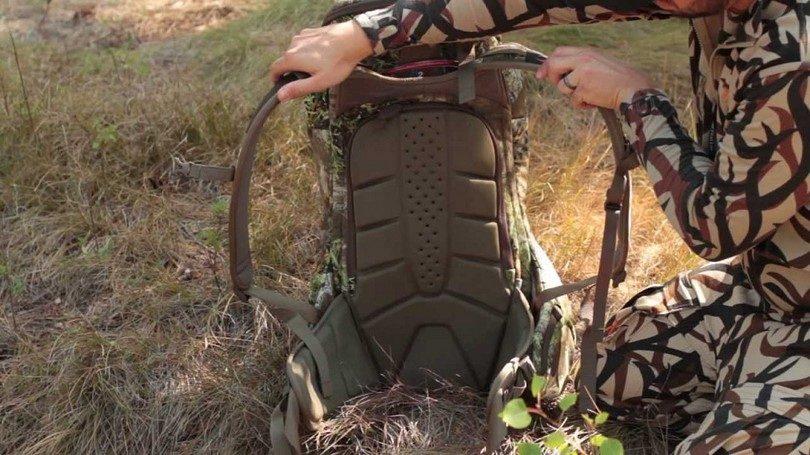 Badlands clutch backpack