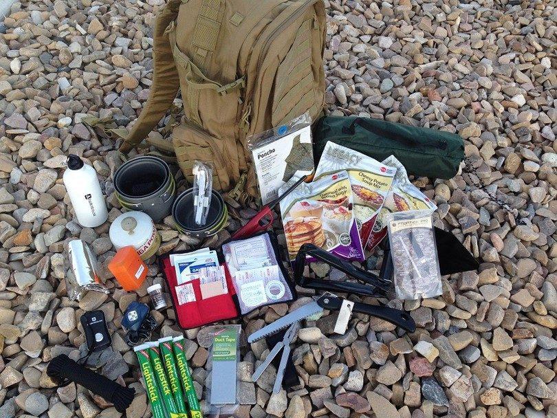 Bag for survival