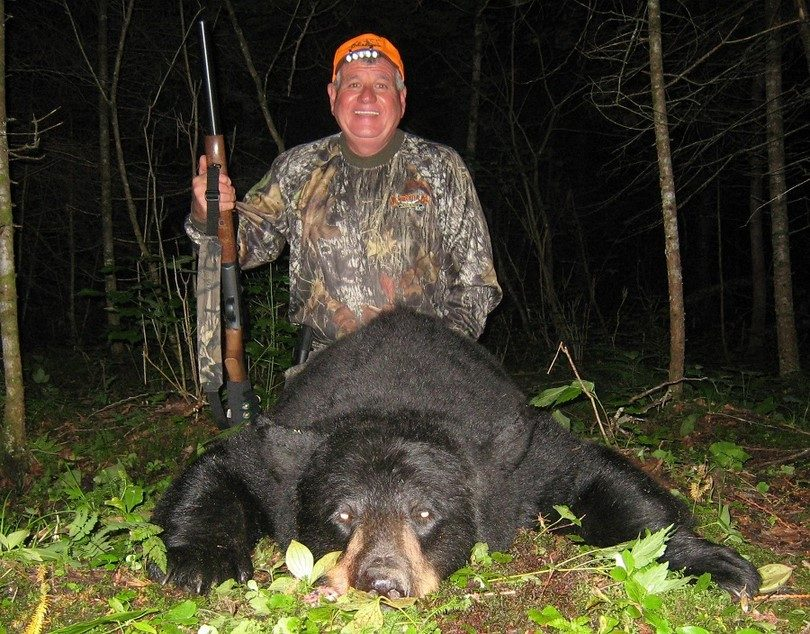 Black Bear hunted