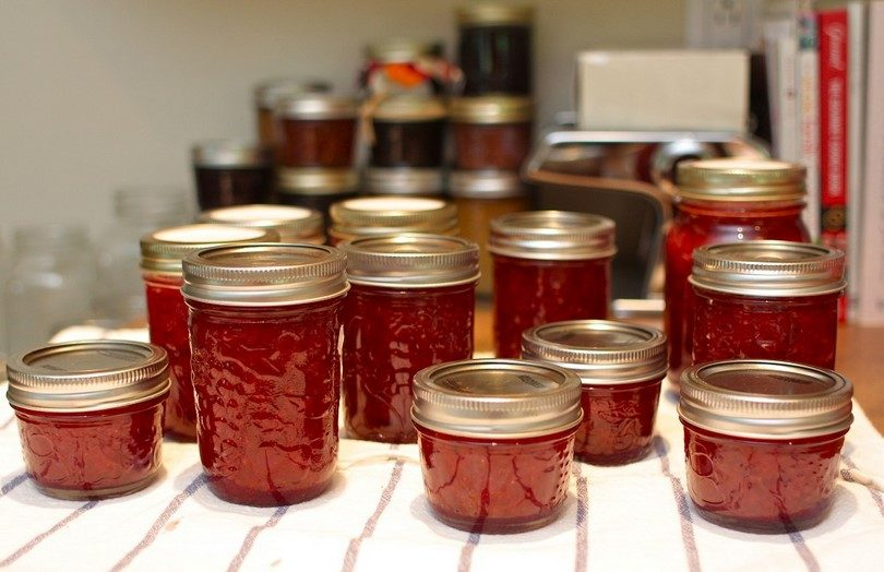 Canning jams