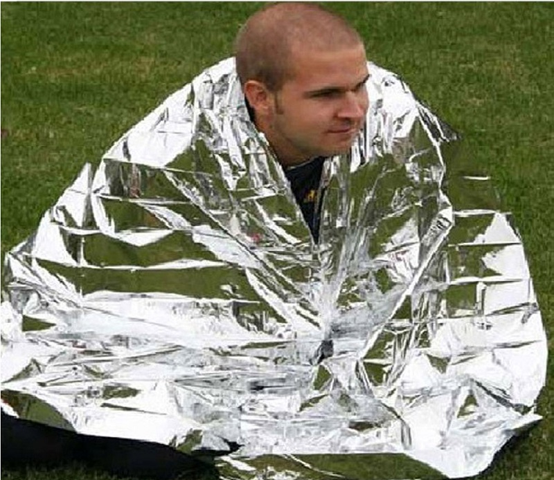 Emergency Mylar Thermal blankets by Ever Ready First Aid