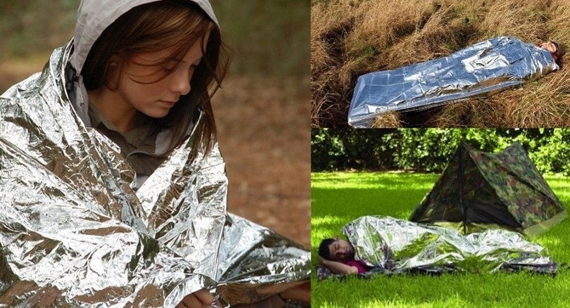 Emergency Mylar thermal blankets by Science Purchase
