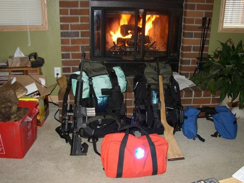 First aid and bug our bags