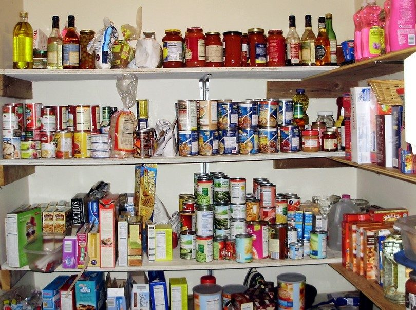 Food stockpiling for long-term disaster