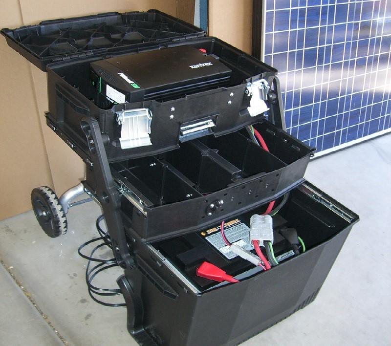 Grid Eraser Portable Solar