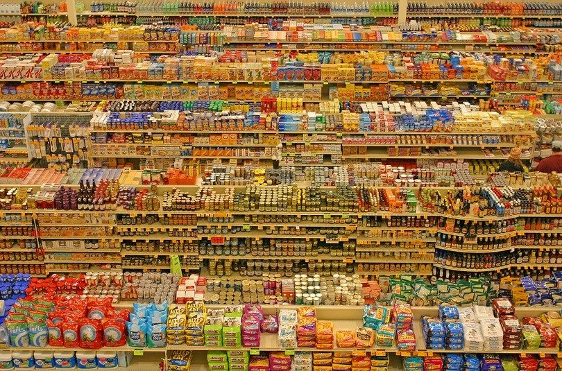 Grocery store goods