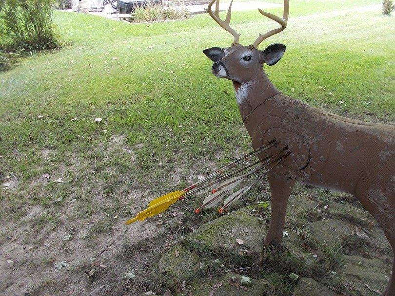Hunting equipment practice