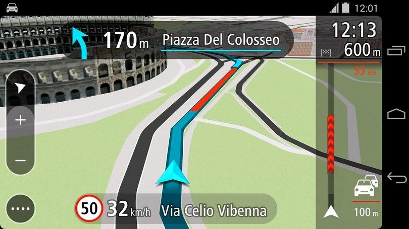 Navigation for when in Rome