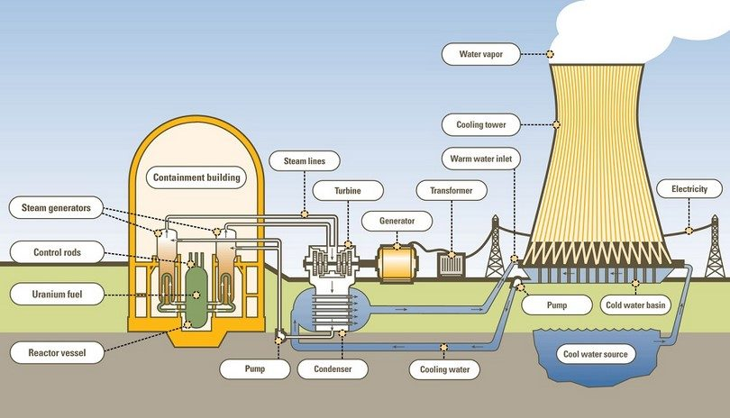 Nuclear power generation plant