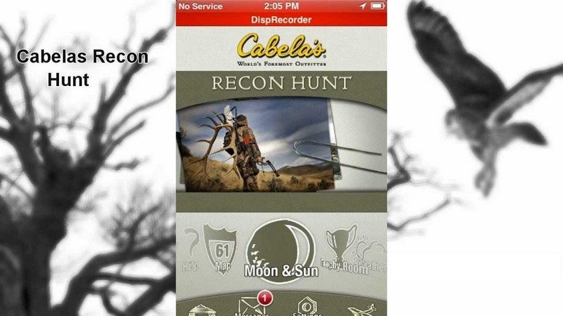 Recon hunt by Cabela