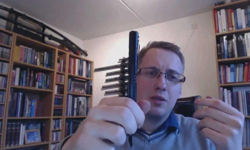 Schrade SCPENBK tactical pen