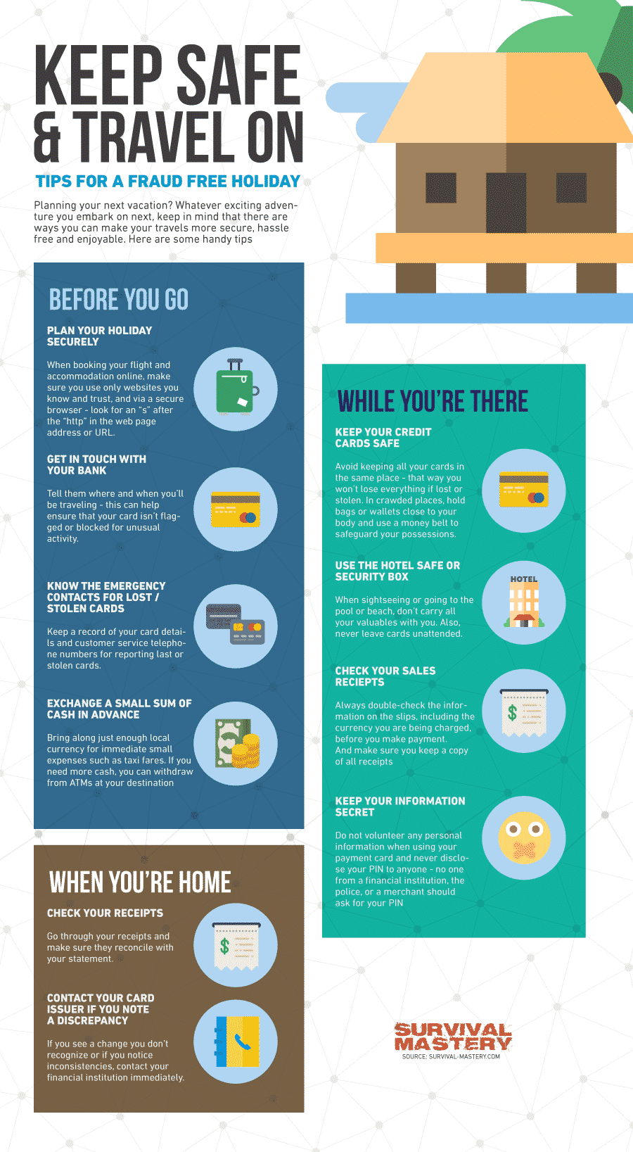 Keep safe infographic
