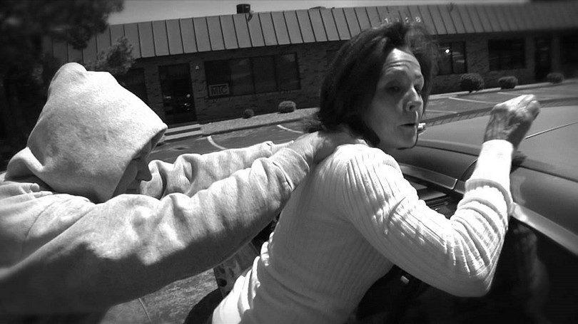 Self defense on parking lot