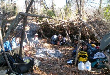 Survival wilderness tactics