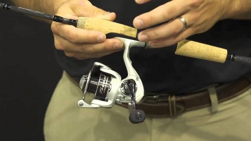 The Pflueger GX7 Trion 30 Spinning Rod and Reel Combo