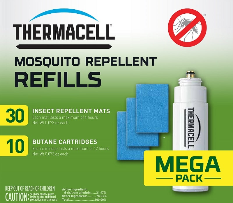 ThermaCELL outdoor lantern