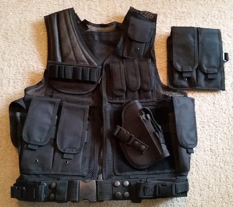 UTG Sportsman tactical scenario vest
