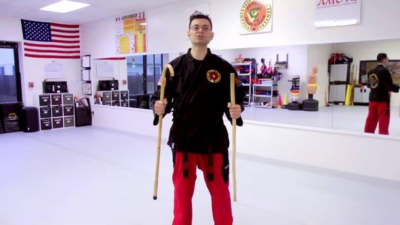 Walking sticks make good homemade self-defense weapons