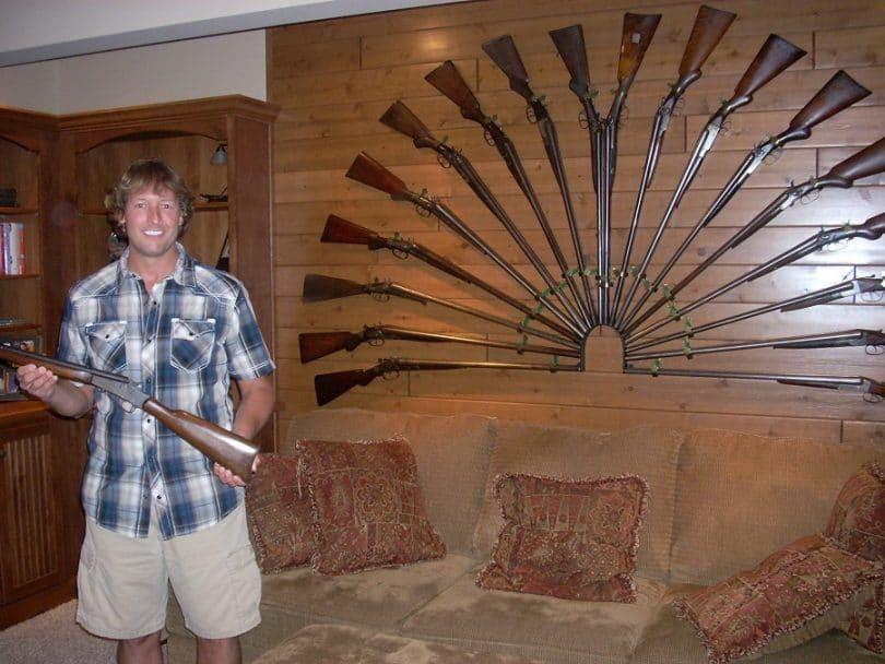 Collector of guns