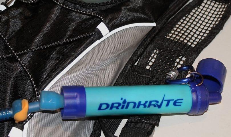 DrinkRite Water Bottle Survival Filter Filtration System