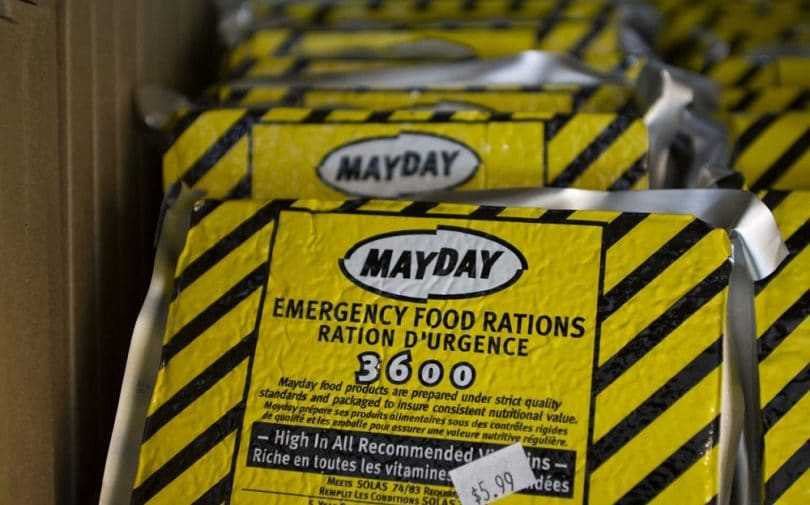 Emergency survival food