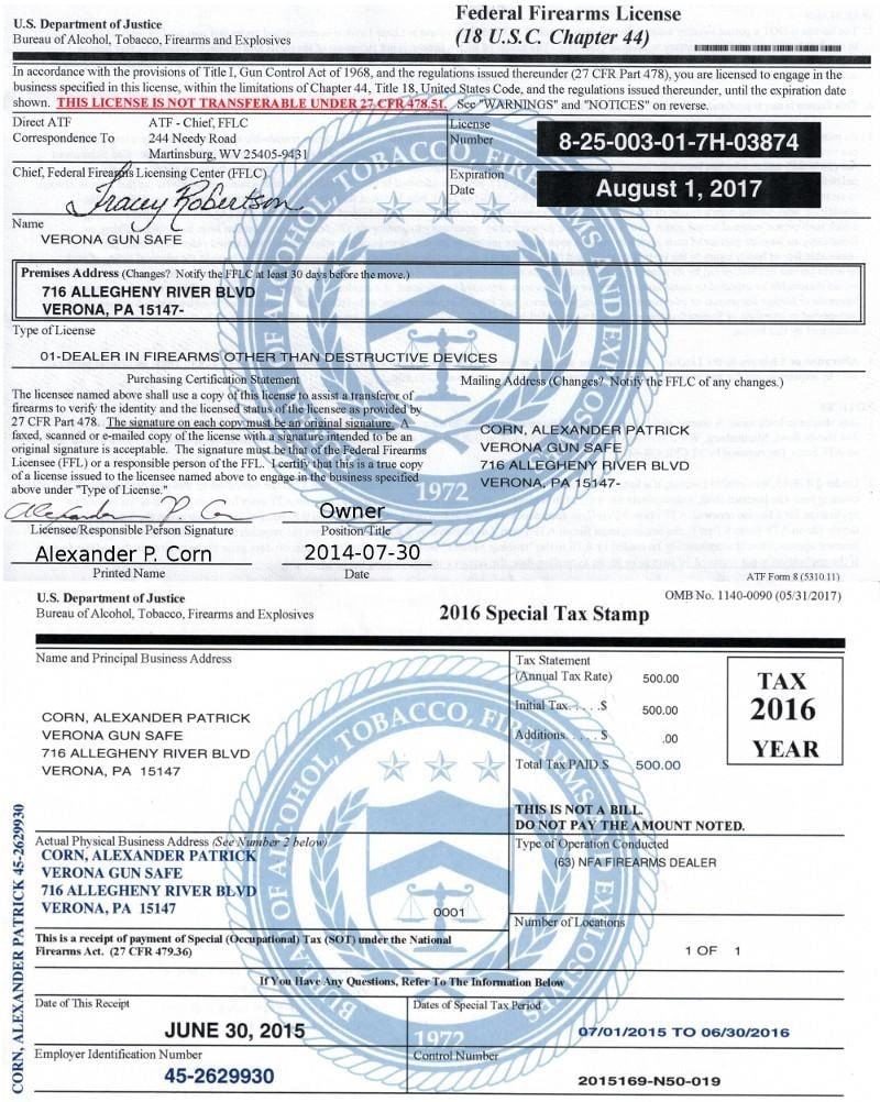 FFL Licence