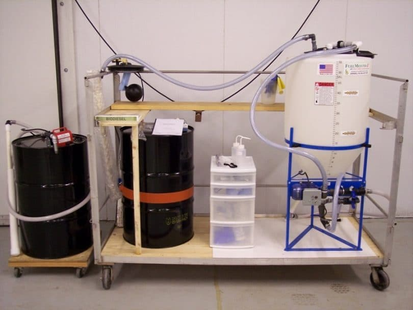 Making biodiesel