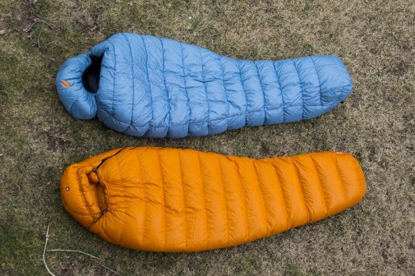 Marmot Lithium 0 sleeping bag(bottom)