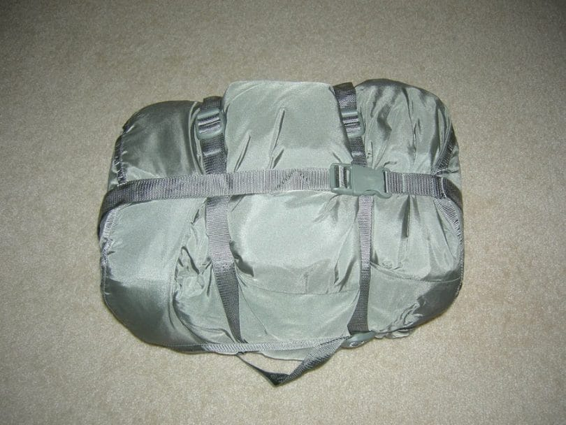 Military Goretex 5-piece improved modular sleeping bag