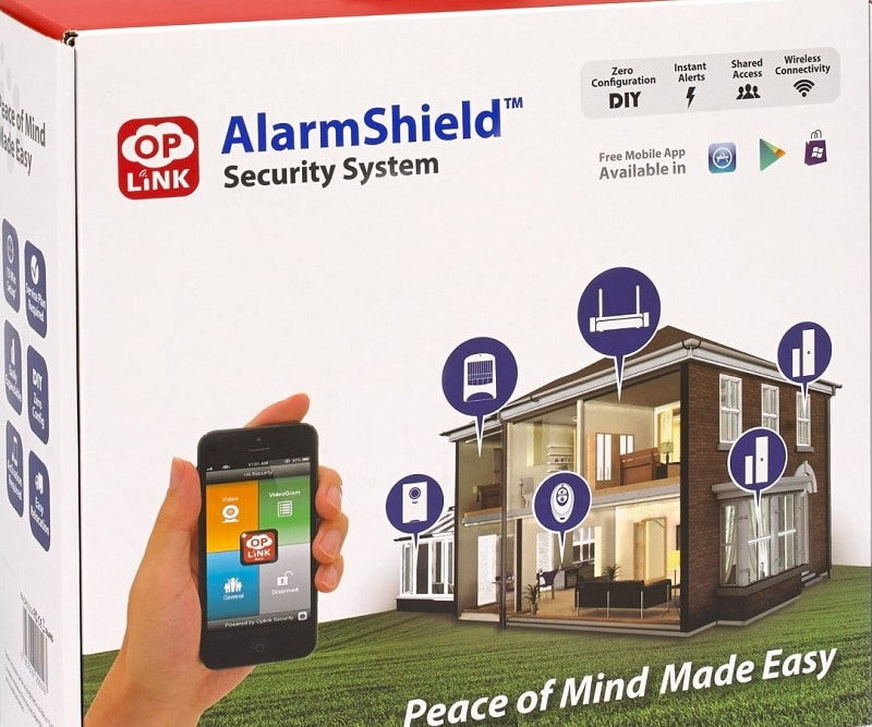 Oplink Connected OPG2201 TripleShield Home security system