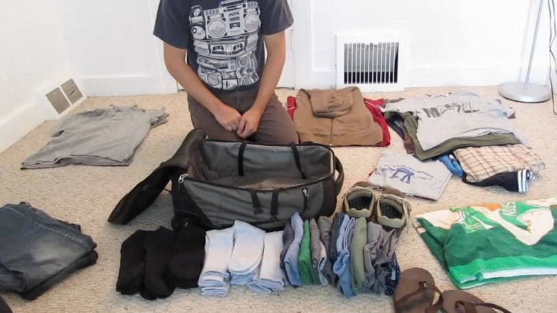 Packing the right clothes