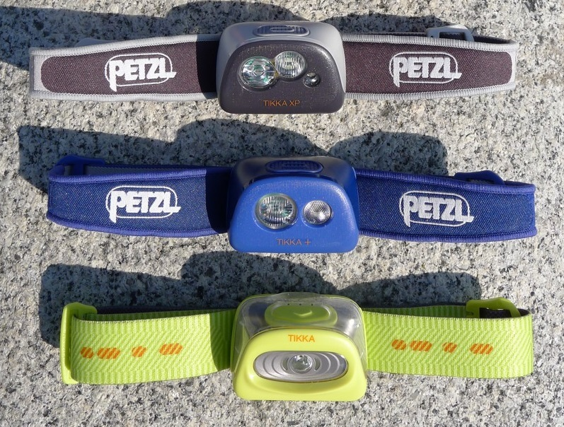 Petzl Tikka Improved Lumen output Xp 2 headlamp