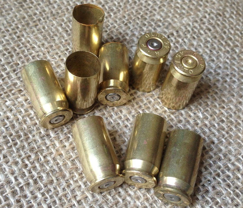 Reloading the brass casings