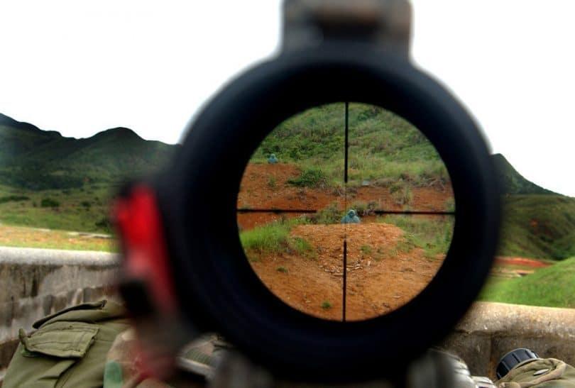 Scope sighting