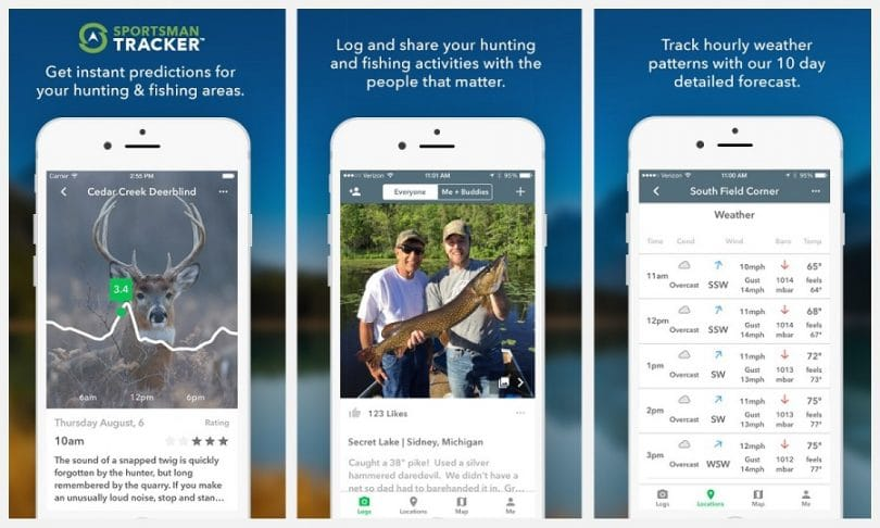 Sportsman tracker app