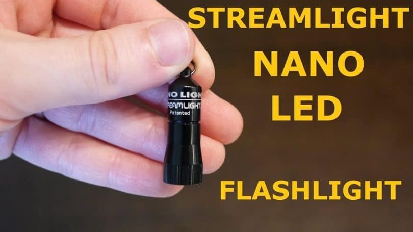 Streamlight Nano Light miniature keychain LED flash-light