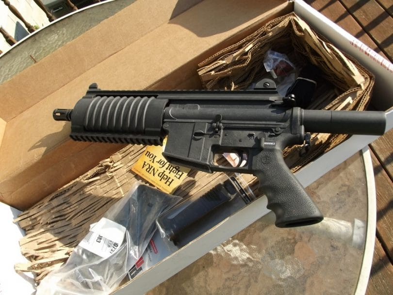 The Bushmaster AR Pistol