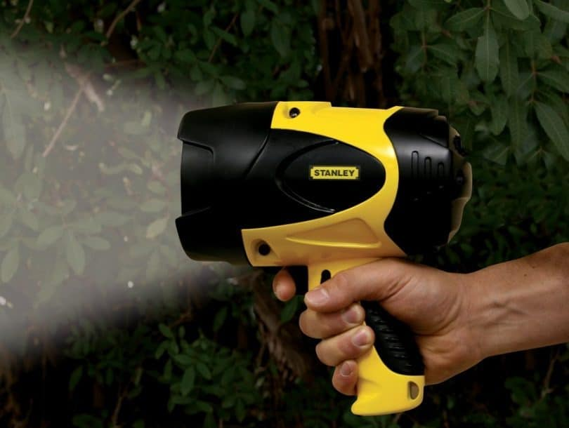 The Stanley FL5W10 Rechargeable Spotlight