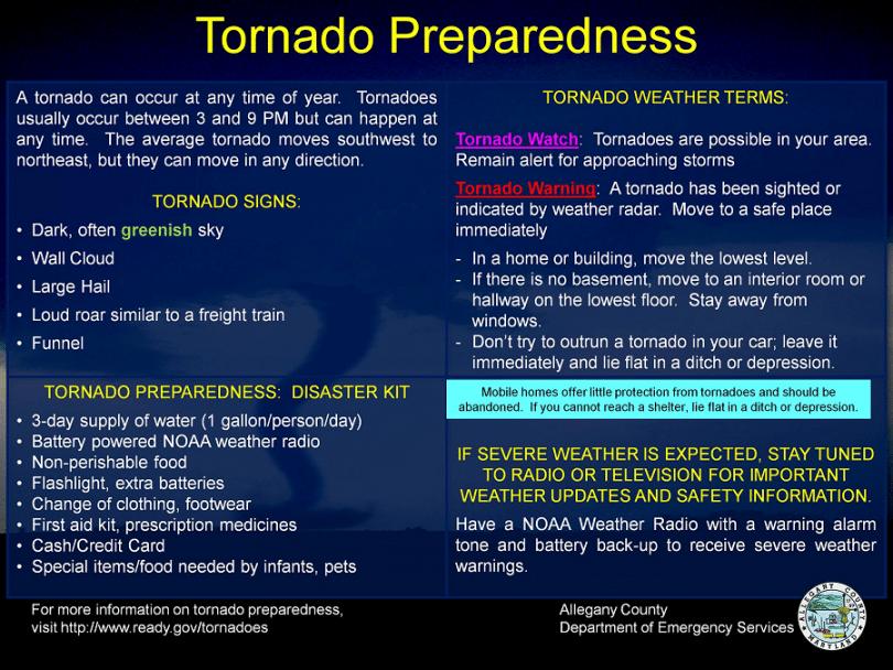 Tornado Prep