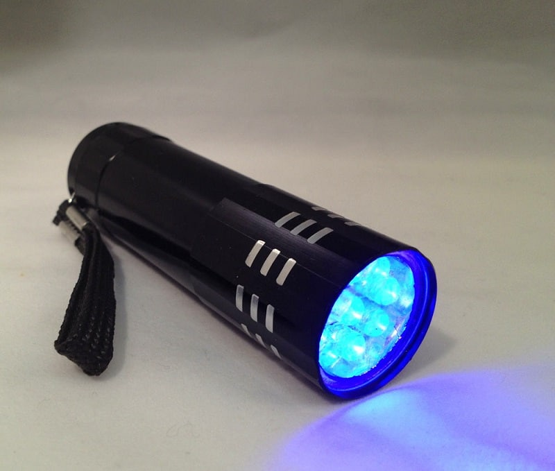 Ultraviolet LED Flashlight