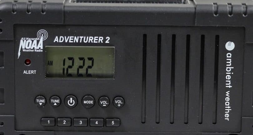 Ambient Weather WR-335 Adventurer2 Emergency weather radio