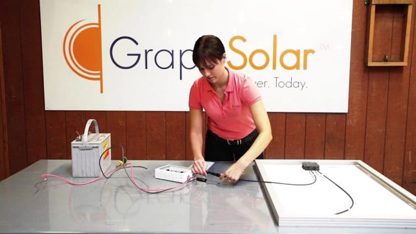 Grape Solar GS-400-Kit off-grid Solar panel kit