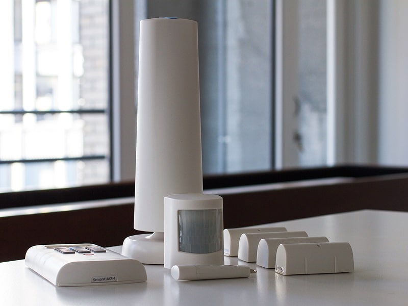 Simplisafe2 wireless home security system