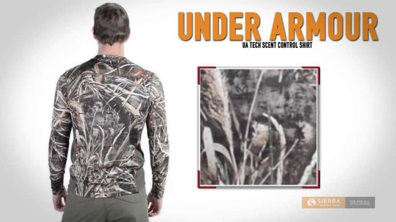 Under Armour Men's UA Scent Control Heatgear long sleeve shirt