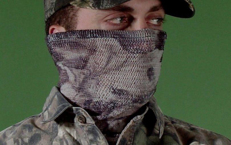 Under Armour UA camo mesh face mask
