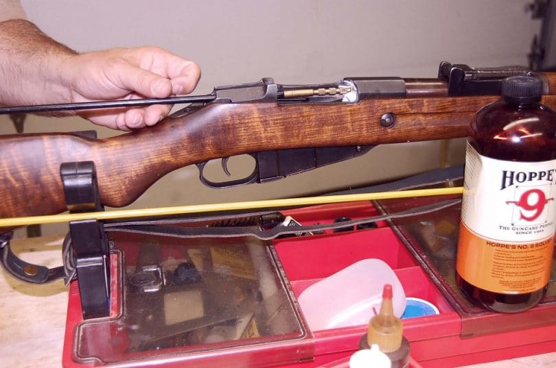 Basic rifle cleaning