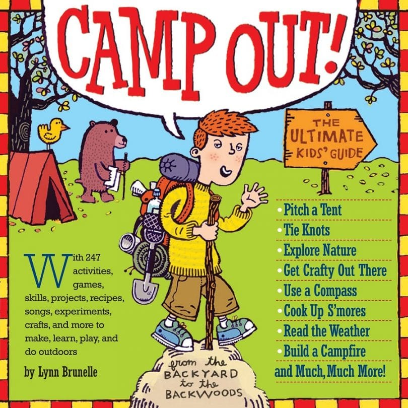 Camp out kids Infographic