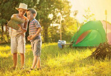 Children camping gear