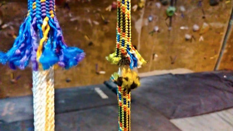 Dynamic climbing ropes